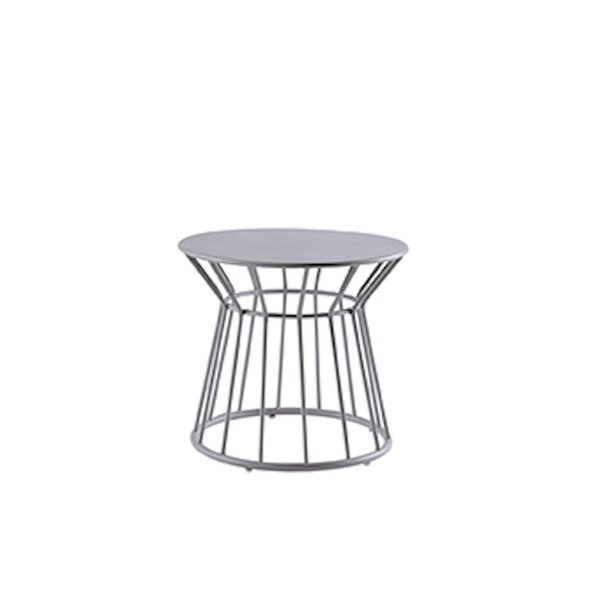 Basket Aluminum Side Table