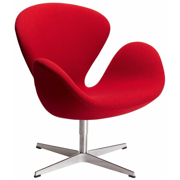 Swan Swivel Lounge Chair by C2A Designs