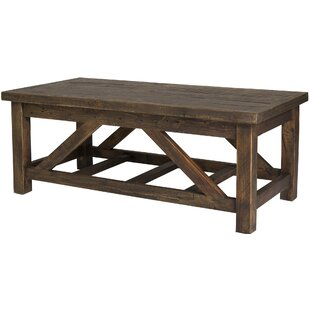Myrtlewood Coffee Table