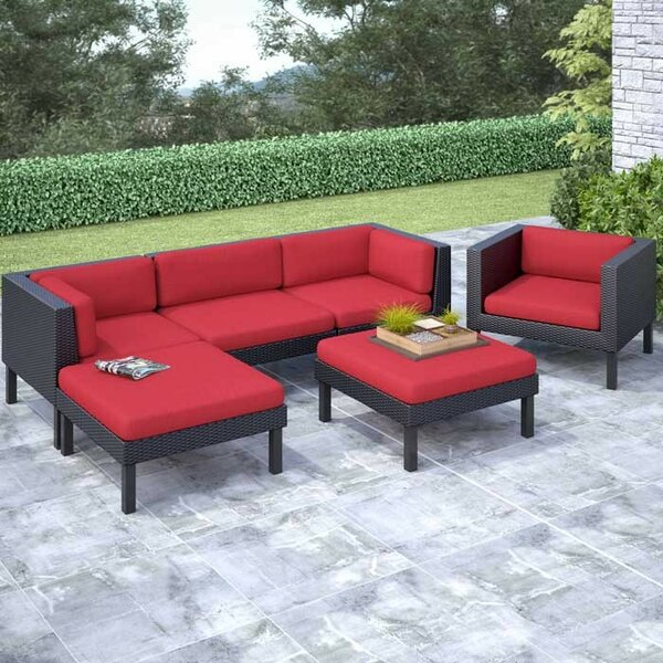 Zoar 6 Sofa Set with Cushions by Breakwater Bay
