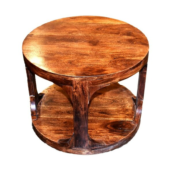 Engleman Wooden End Table by Loon Peak