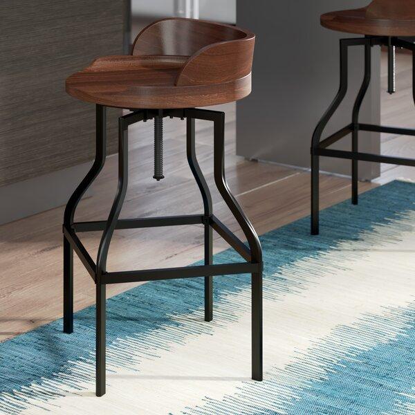 Essonnes Adjustable Height Swivel Bar Stool by Trent Austin Design
