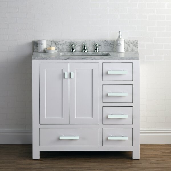 Clifford 36 Cashmere Single Bathroom Vanity Set by Ebern Designs