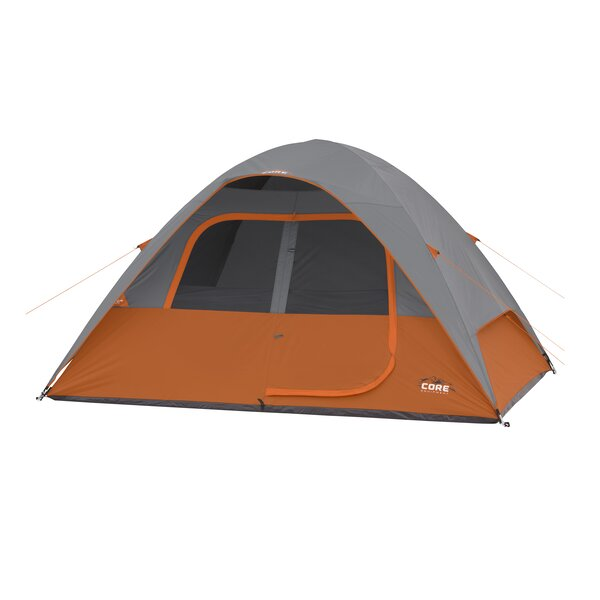 6 Person Dome Tent by Core Equipment