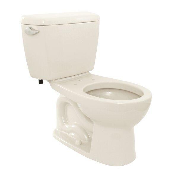 Drake 1.6 GPF Round Two-Piece Toilet by Toto