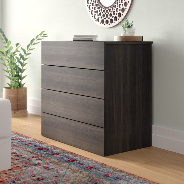Brooke 4 Drawer Bachelors Chest by Latitude Run