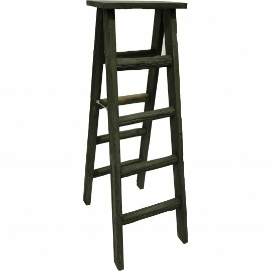 Wooden 2.5 ft Decorative Ladder by August Grove