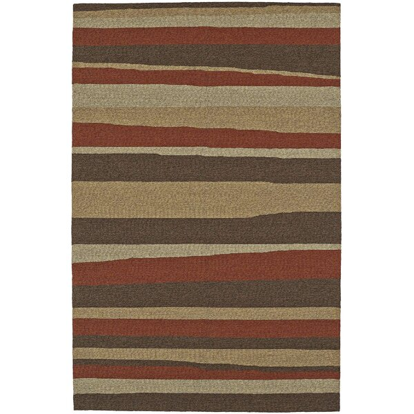 Lovitz Hand-Tufted Canyon Indoor/Outdoor Area Rug by Williston Forge