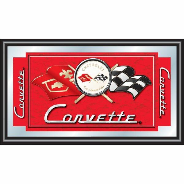 Corvette C1 Framed Vintage Advertisement by Trademark Global