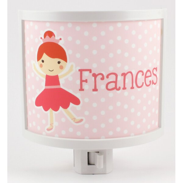 Ballerina Personalized Night Light by Common Rebels