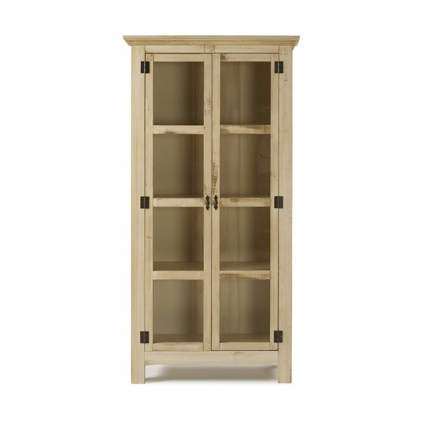 Colucci Reclaimed Glass Accent Cabinet by Gracie Oaks