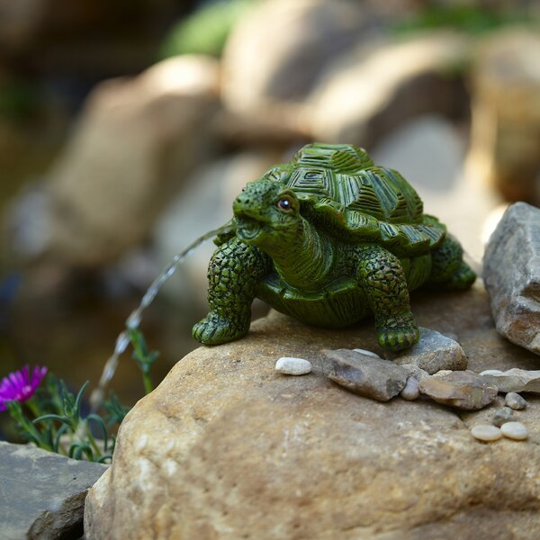 Resin Turtle Spitter by Pond Boss