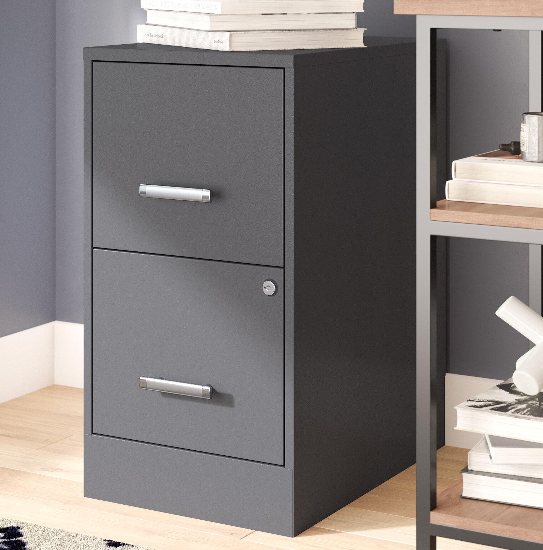 Wooster 2 Drawer Vertical Filing Cabinet Reviews Allmodern