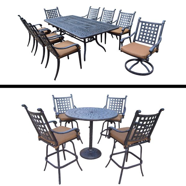 Arness 14 Piece Bar Height Dining Set by Darby Home Co