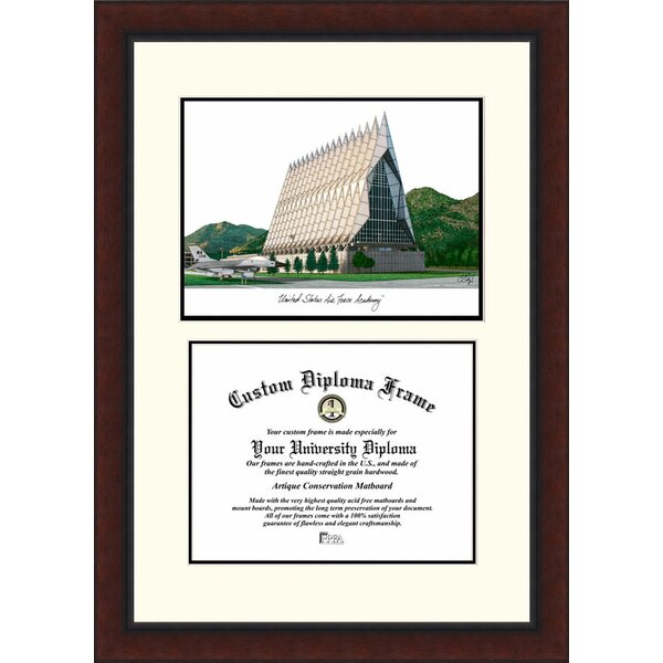 NCAA United States Air Force Academy Legacy Scholar Diploma Picture Frame by Campus Images