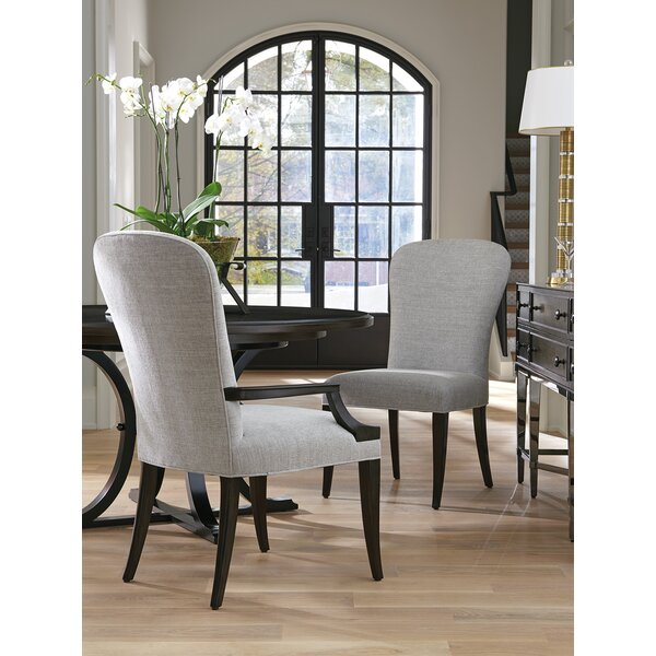 Brentwood Upholstered Dining Chair by Barclay Butera Barclay Butera
