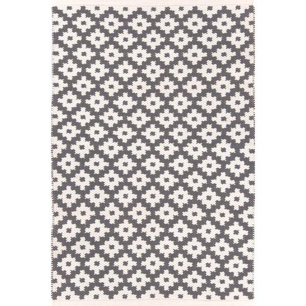Samode Hand Woven Grey Indoor/Outdoor Area Rug by Dash and Albert Rugs