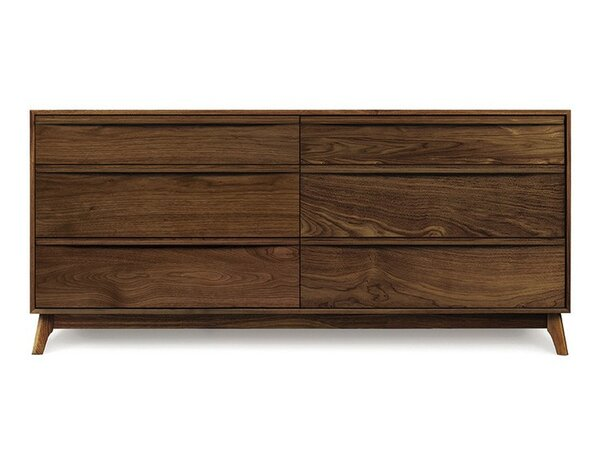 Catalina 6 Drawer Double Dresser by Copeland Furniture
