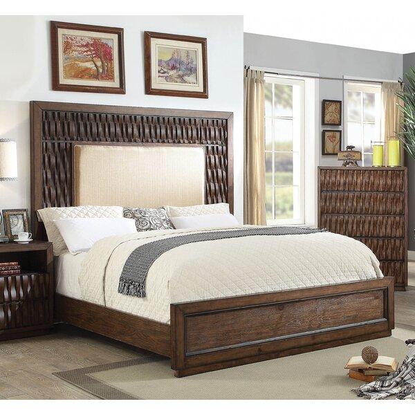 Pinnix Upholstered Platform Bed by Bloomsbury Market
