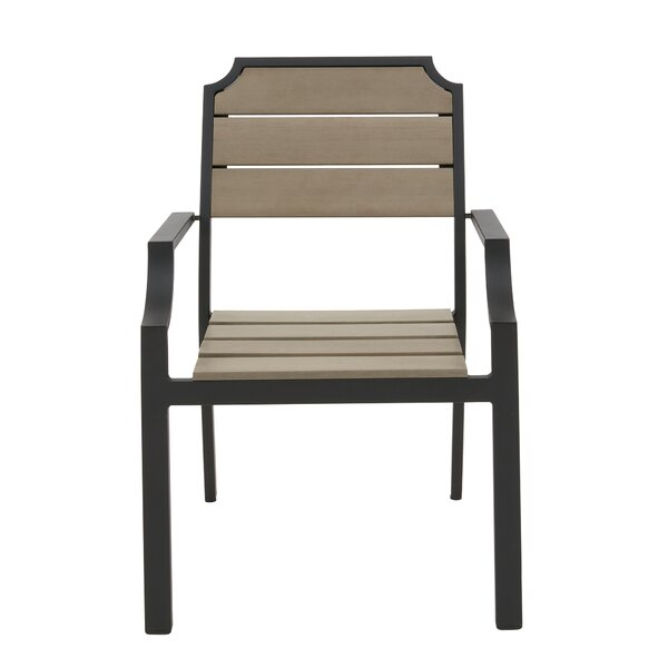Parkwood Stacking Patio Dining Chair (Set of 2) by Bay Isle Home