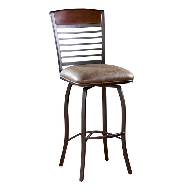Stefano 30 Swivel Bar Stool by American Heritage
