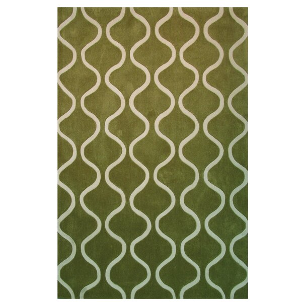 Capri Green Area Rug by L.A. Rugs