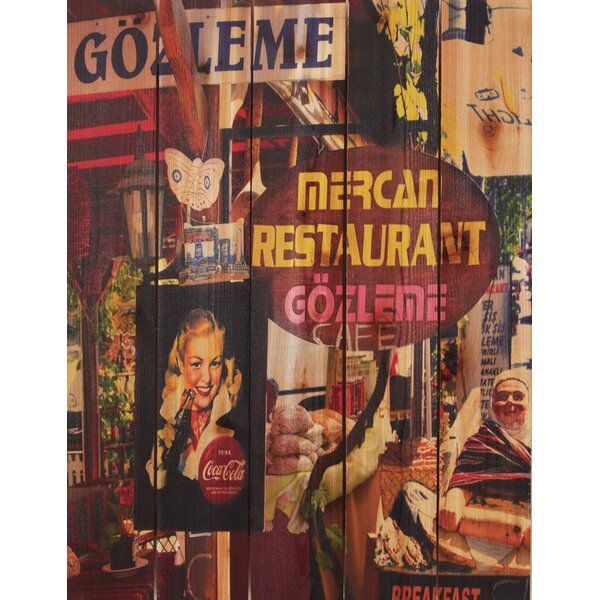 Gozleme Cafe Photographic Print by Gizaun Art
