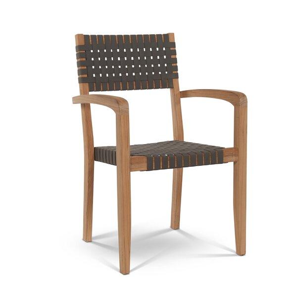 Herning Stacking Teak Patio Dining Chair (Set of 4) by HiTeak Furniture