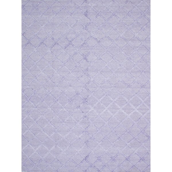 Bonefield Kilim Wool Light Violet Area Rug by Rosdorf Park