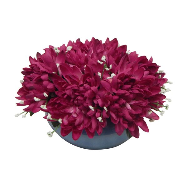 Vibrant Mums Centerpiece by Charlton Home