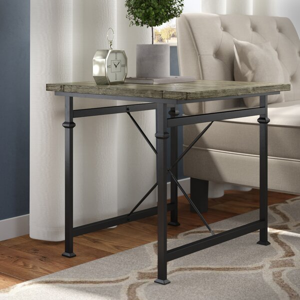 Ansley End Table by 17 Stories