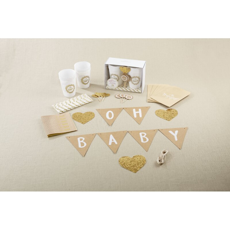 Baby onesie straws Cute Baby shower party ideas 10 pieces metallic. mommy to bee decoration Mom to be party decor