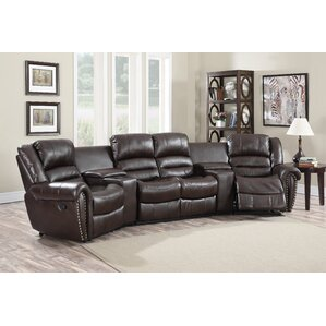 Abbie Home Theater Recliner (Row of 4)  sc 1 st  Wayfair & Theater Seating Youu0027ll Love | Wayfair islam-shia.org