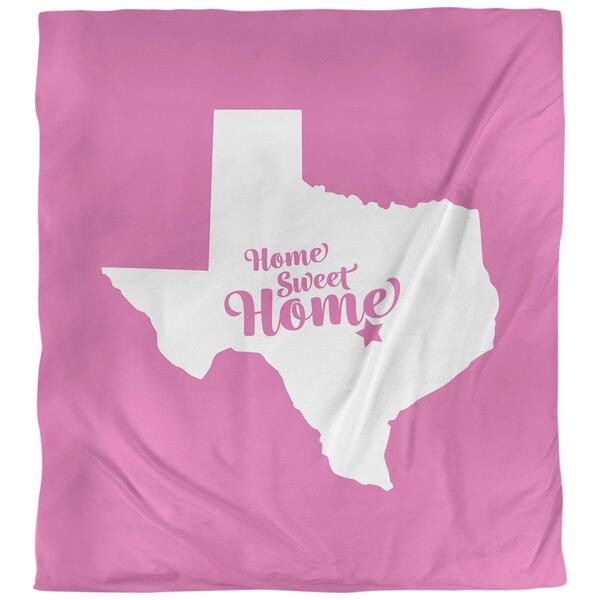 Home Sweet Austin Single Reversible Duvet Cover