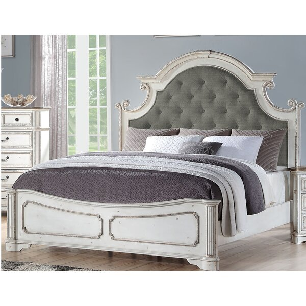 Megan Upholstered Standard Bed by One Allium Way