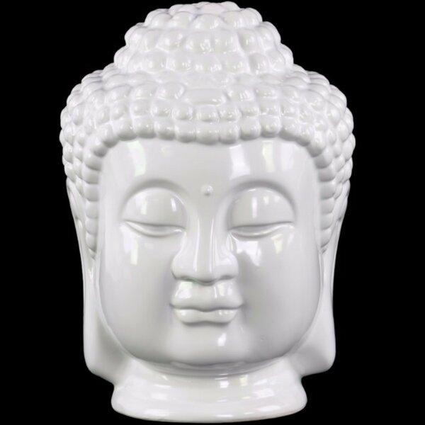 Greenhill Buddha Head with Beaded Ushnisha by World Menagerie