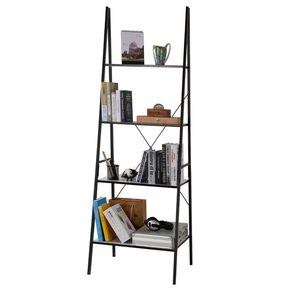 Lujan Leaning Ladder Bookcase by Ebern Designs