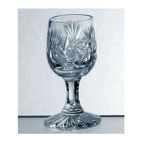 Colten Handcut Crystal 1 oz. Snifter/Liqueur Glasses (Set of 6) by Astoria Grand