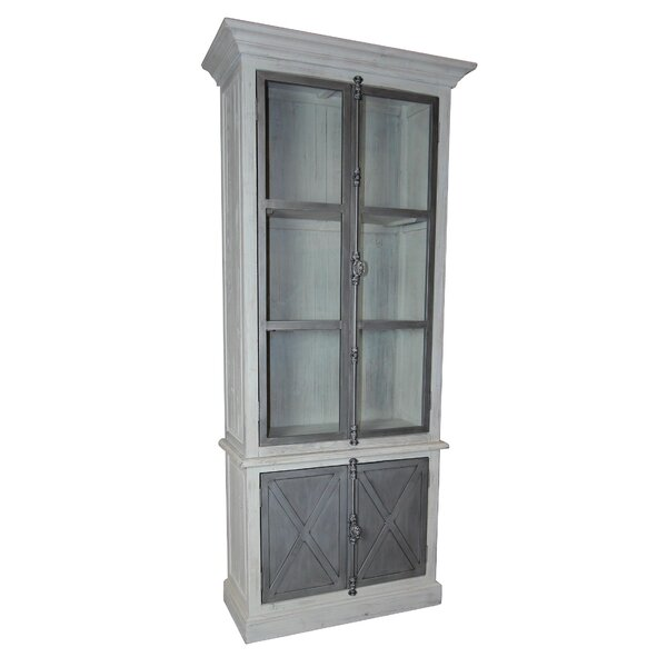 Isaiah Vitrine China Cabinet by One Allium Way