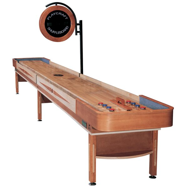 Telluride Honey Shuffleboard Table by Playcraft