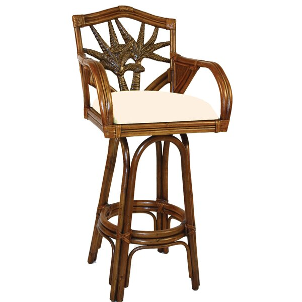 Cypress 30 Swivel Bar Stool by Bay Isle Home