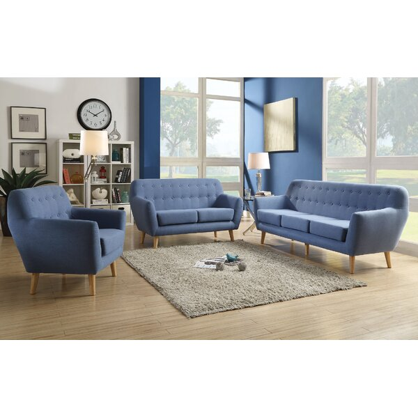 Katalina 3 Piece Living Room Set by Corrigan Studio