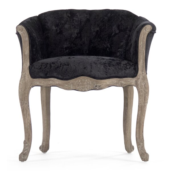 Lohman Barrel Chair by Rosdorf Park
