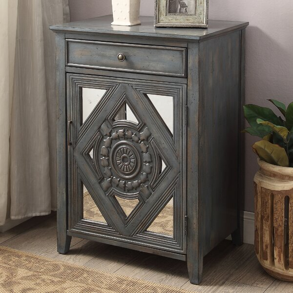 Dimitri End Table With Storage By Bungalow Rose