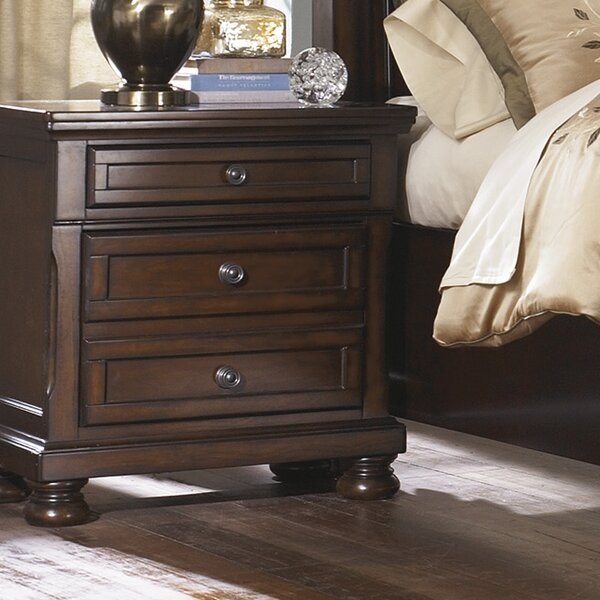 Hanley 3 Drawer Nightstand by Astoria Grand