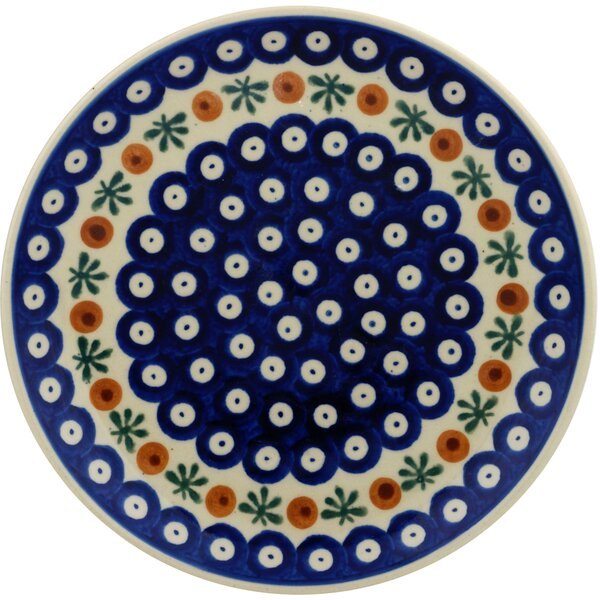 Mosquito Polish Pottery Decorative Plate by Polmed