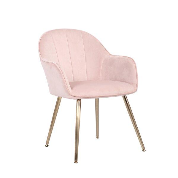 Amsterdam Velvet Upholstered Dining Chair By Mercer41