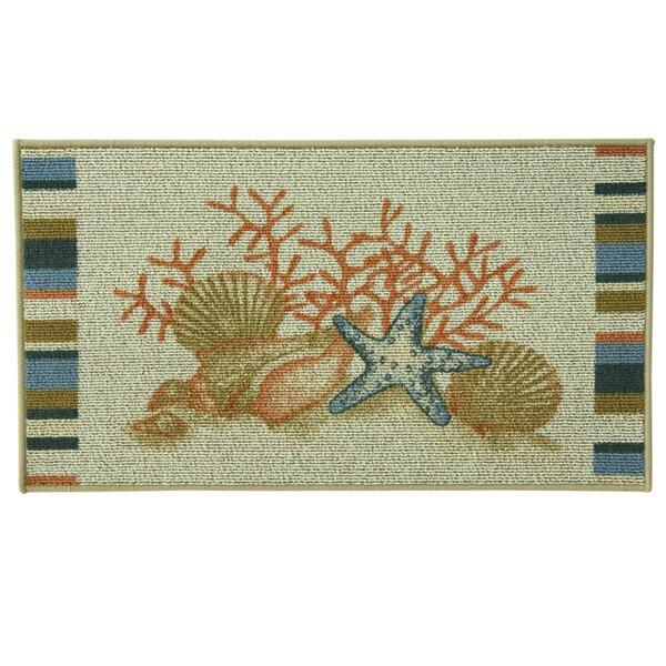 Classic Berber Seaside Doormat by Bacova Guild