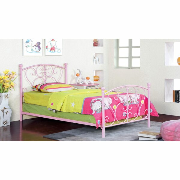 Linder Twin Four Poster Bed by Zoomie Kids
