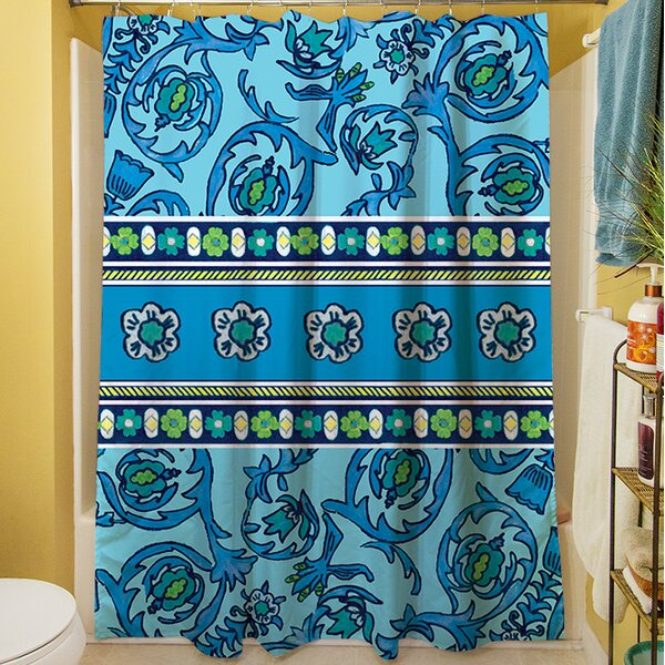 New Beginnings Shower Curtain by Manual Woodworkers & Weavers